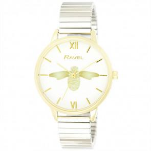 Women's Bumble Bee Bracelet Watch - Two Tone