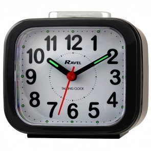 Ravel Quartz Talking Alarm Clock