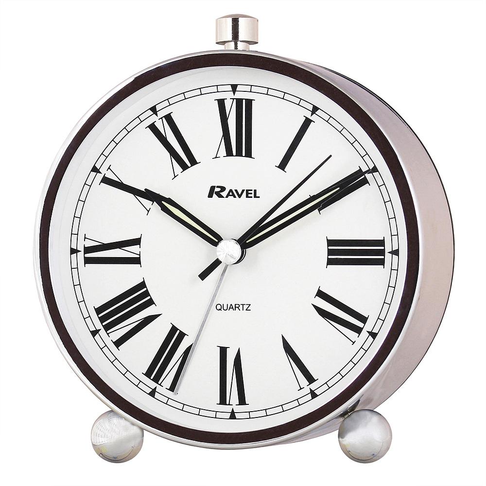 Ravel contemporary quartz alarm clock rc014 by timesource for Designer alarm clock