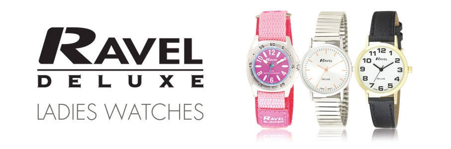 Ravel Deluxe Watches Ladies