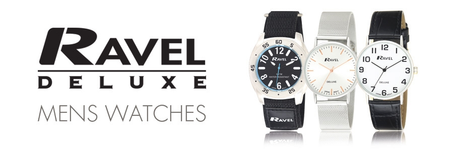 Ravel Deluxe Watches Mens