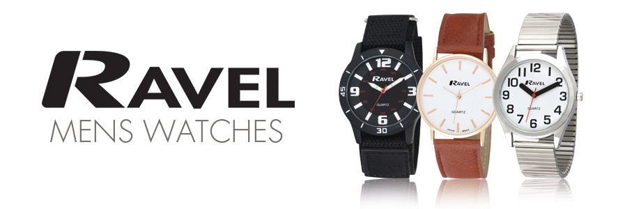 ravel gents watches